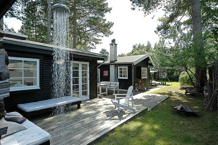 Sommerhus på 79 kvm.i hornbæk til salg hos robinhus. fantastisk ...