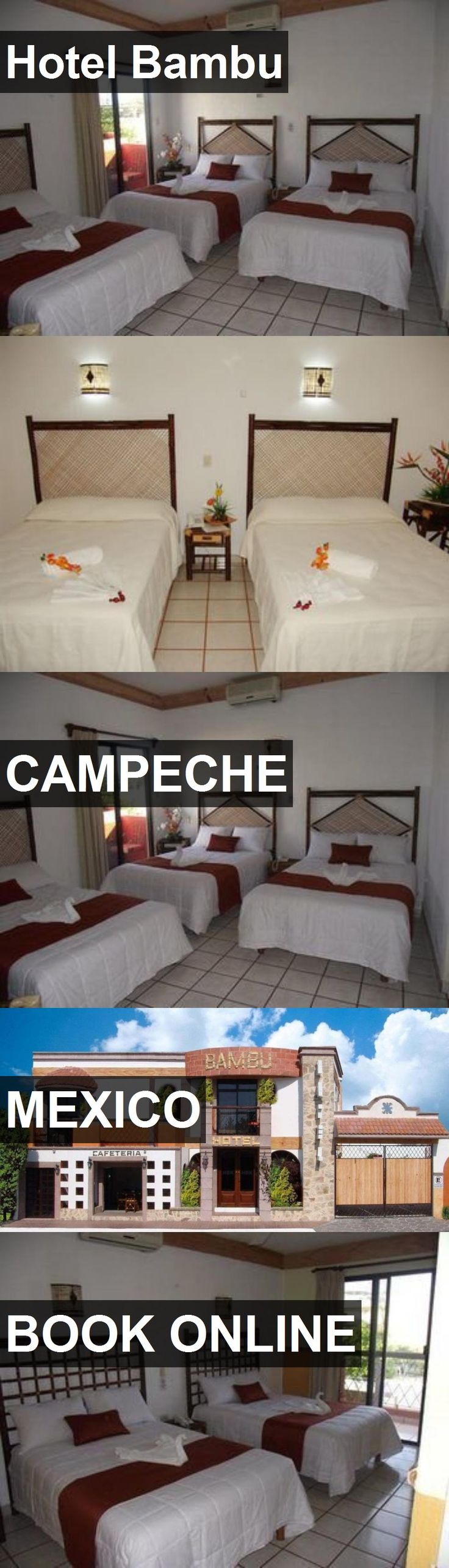 Hotel Bambu in Campeche, Mexico. For more information, photos, reviews and best prices please follow the link. #Mexico #Campeche #travel #vacation #hotel