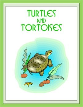 """The """"Turtles and Tortoises"""" Unit has 17 pages. Topics include: kinds of turtles and tortoies, endangered, Leatherbacks, Ridleys, rescue and rehabilitation, Galapagos and desert tortoises. The activities include the following: missing words, circle the correct answer, a word find, a word unscramble, a criss cross, spelling, definitions, and drawing.We off 200+ Thematic Units."""