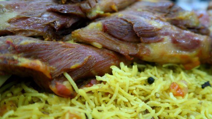 طبخ لحم حنيذ فى البيت نفس طعم المطاعم وأحلى Lamb Shoulder In Oven English Subtitles Cooking Food Meat