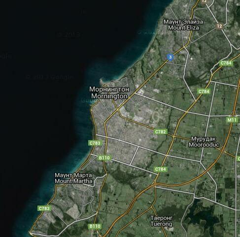 Морнингтон: видео, известные туристические места, Спутниковая карта, Фото - Виктория - Австралия , Tours TV