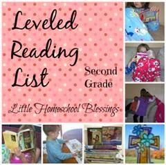 This is a list of books that is on a second grade reading level. from Little Homeschool Blessings: Reading List: First Grade #second #grade #reading #book #list