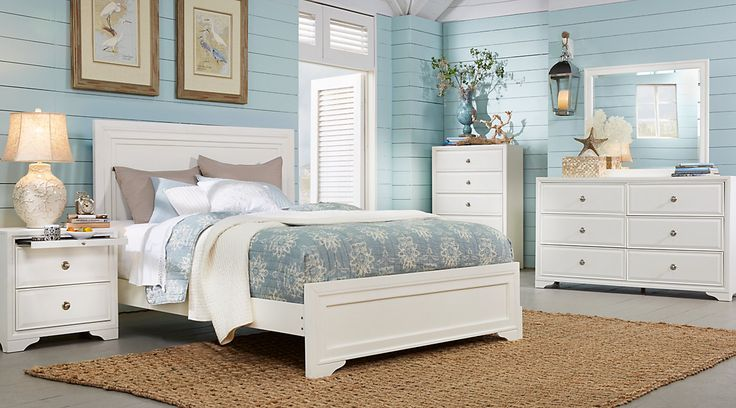 Affordable Queen Size Bedroom Furniture Sets for sale. Large selection of queen bed sets: contemporary, modern, traditional, white, black, brown, cherry, espresso, etc #iSofa #roomstogo