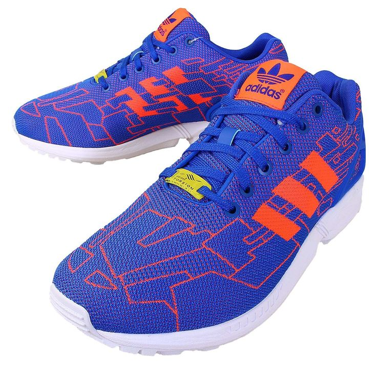 Adidas Originals ZX Flux Weave Blue SolarRed White Lifestyle M21362 $199.00  � Men Running ShoesMens ...