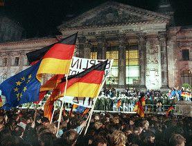 German reunification. October 3, 1990.