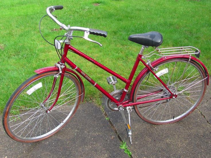 My Vintage 70s Free Spirit 10 Speed Bike Almost Cherry