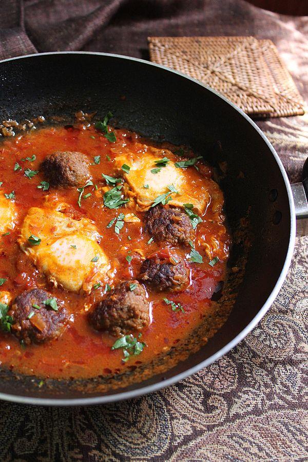 Moroccan Meatballs   MunatyCooking