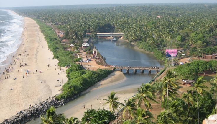 Payyambalam Beach and Backwater