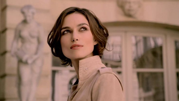 "Very feminine and elegant. One of my favorite ads ""Coco Mademoiselle: The Film - CHANEL"" starring Keira Knightley"