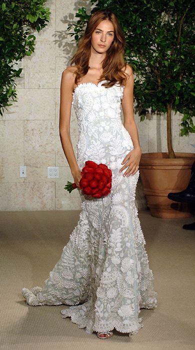 Oscar de la Renta wedding dresses - Photo 6   Celebrity news in hellomagazine.com