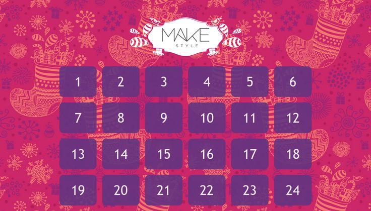 Sjekk ut årets julekalender fra makestyle.no!  Vinn premier og få eksklusiv tilgang til tilbud og kampanjer