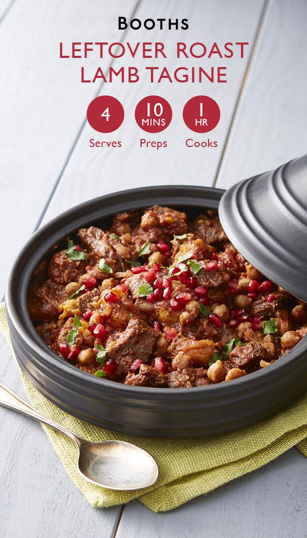 Leftover roast lamb tagine, a delicious way to love your leftovers!