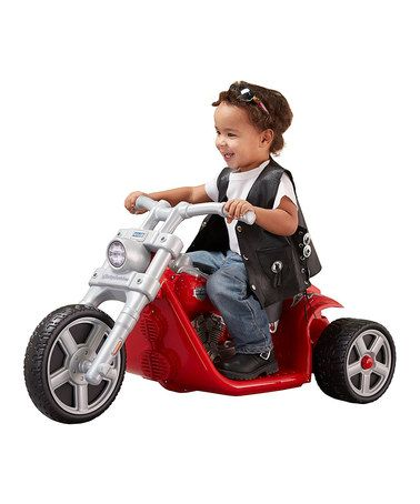 Fisher Price Power Wheels Harley Davidson Rocker Refresh Ride On, Red