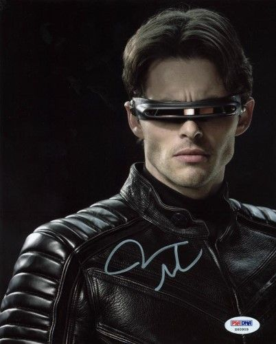 James Marsden X Men Signed Authentic 8x10 Photo Autographed Psa Dna X60909 Cyclops X Men X Men Superhero