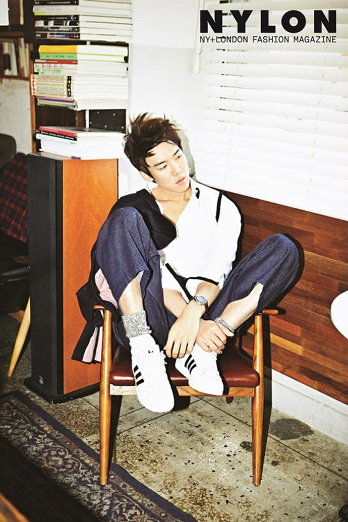 Reply 1994′s Yoo Yeon Seok Is Mellow For Nylon Korea's December 2013 Issue | Couch Kimchi