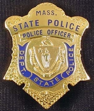 Massachusetts State Police Badge
