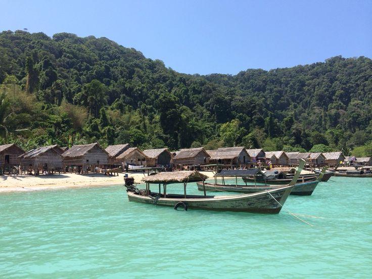 เที่ยวหมู่บ้านมอแกน หมู่เกาะสุรินทร์ - Pantip