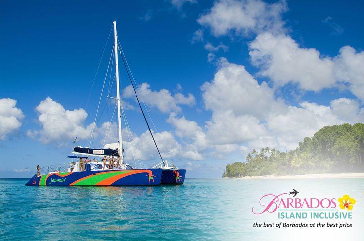 Jammin Catamaran Cruises #Barbados #IslandInclusive #FreeSpendingMoney #traveldeals #island #cruise #sail #caribbean #BarbadosIslandInclusive