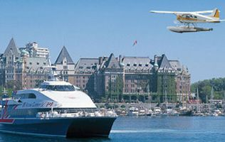 Victoria and Seattle Sea and Sky package
