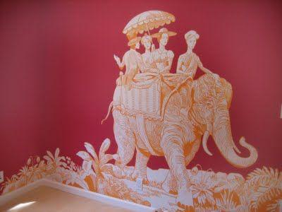 Scalamandre: Orange Color, Color Schemes, The Angel, Wall Murals, Baby Design, Hot Pink, Manuel Canova, Fabrics, Modern Bedrooms