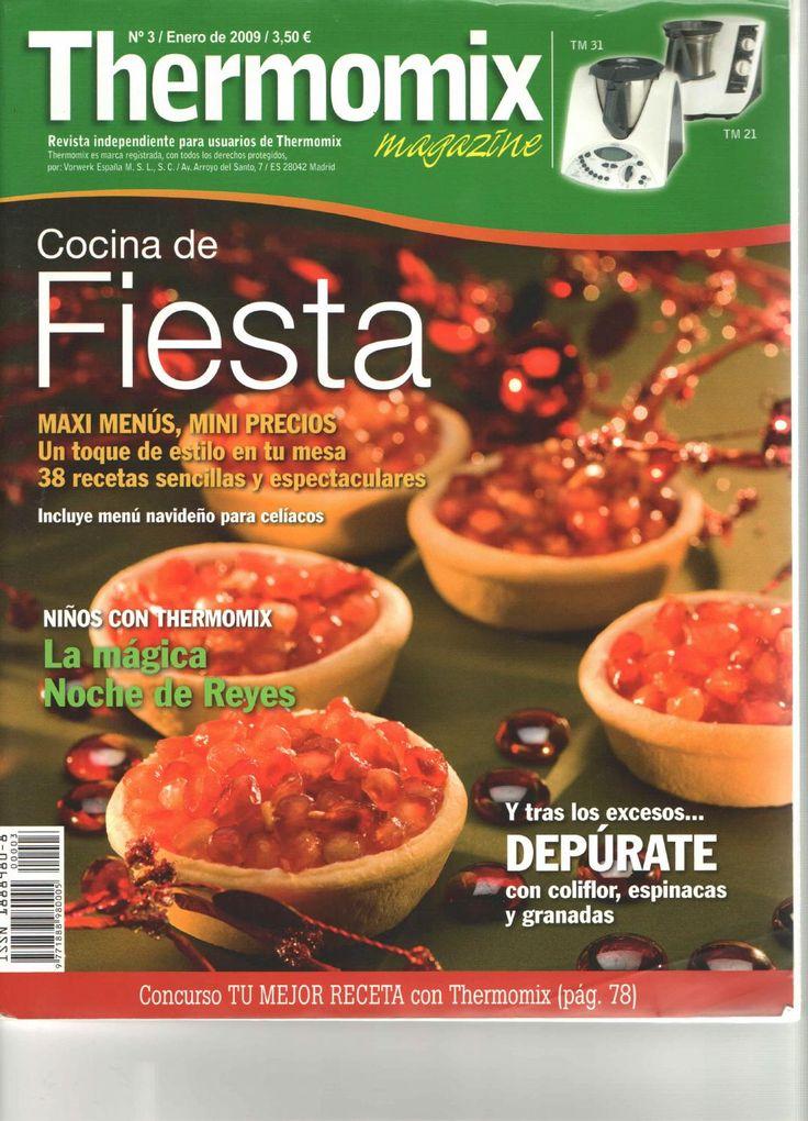 Rev. Thermomix magazine nº 3. Cocina de fiesta