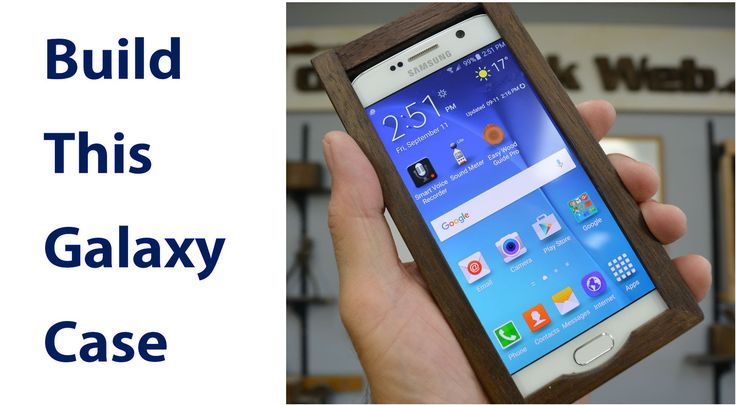 Make a Wooden Smartphone Case. #wood #phonecases