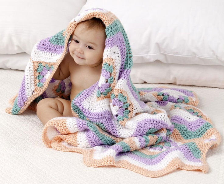 Caron Crochet Baby Blanket Pattern : Caron International Free Simply Soft? Project Baby ...