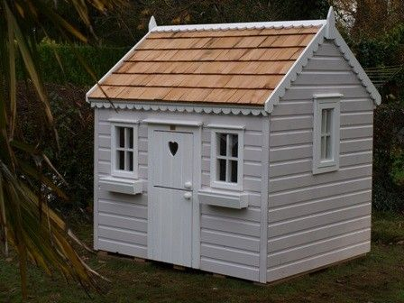 Childrens wooden playhouse