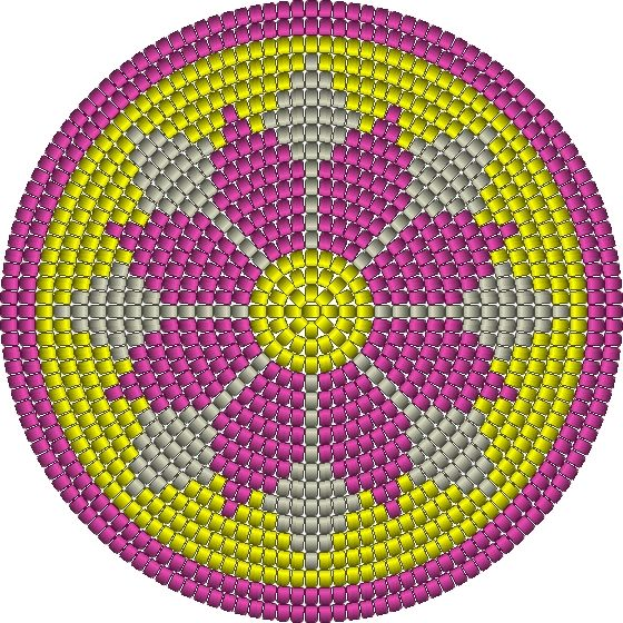 bloem mochila bodem wayuu pattern