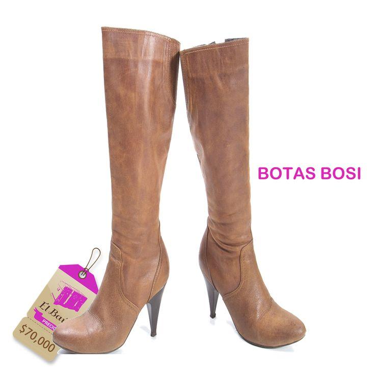 Botas Bosi El Baúl te trae siempre lo mejor de cada marca, al mejor precio  $70,000  http://elbaul.co/Productos/1557/Botas-Bosi-caf%C3%A9-
