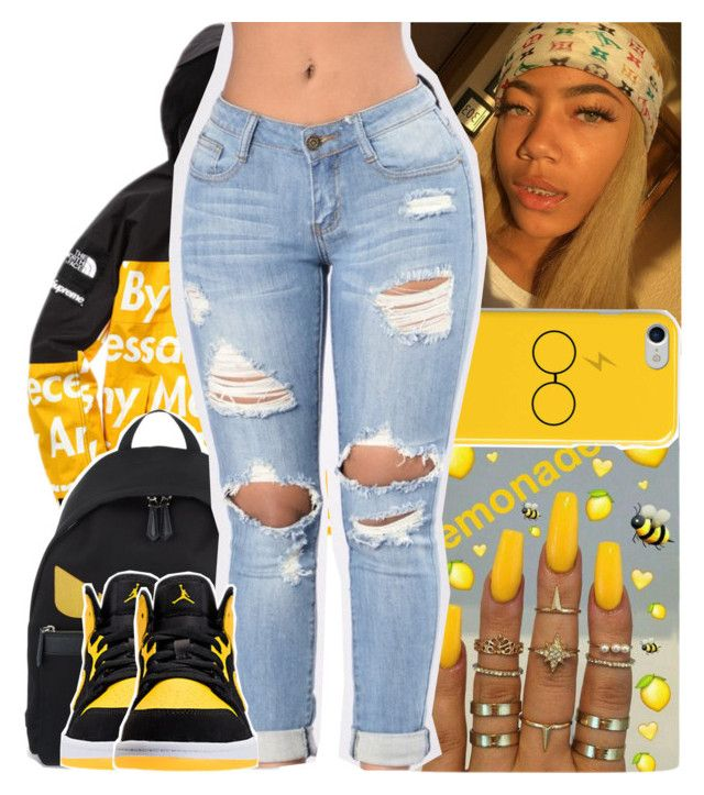 """asian doll - savage barbie"" by daeethakidd ❤ liked on Polyvore featuring Fendi"