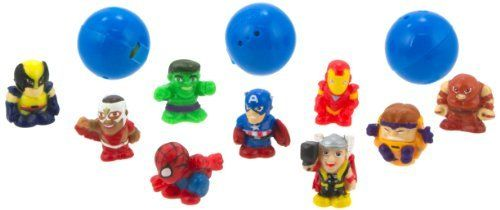 "Blip Squinkies Marvel Bubble Pack - Series 4 - Super Hero Squad by Squinkies. $14.99. Each bubble pack includes 12 different squinkies. Collect them all. Squinkies - the hottest toy around. 100's of squinkies to collect. All your favorite marvel characters as squinkies. From the Manufacturer                New squinkies bubble packs for boys featuring your favorite characters from Marvel Universe. Squinkies are squishy, squashy 1"" collectible figures that come in thei..."