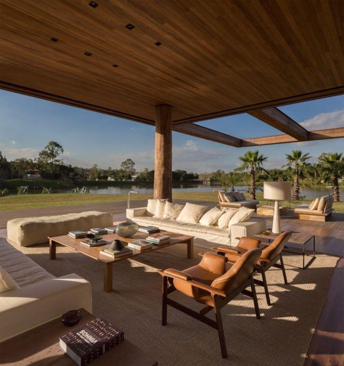 Casa Itu-Brasil | domusxl | #techos #madera #design #architecture