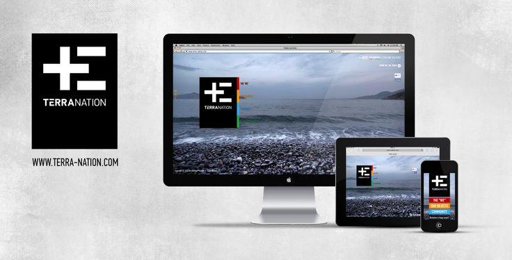 terra-nation.com \\ desktop & mobile site design