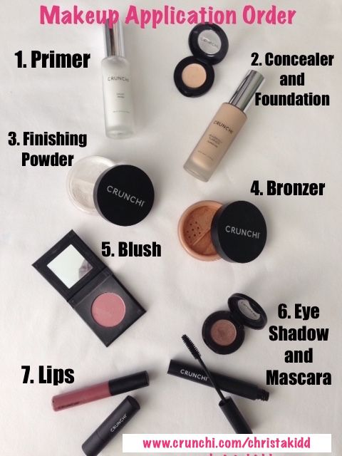 Makeup Order Order Of Makeup Application: 1000+ Images About Makeup On Pinterest