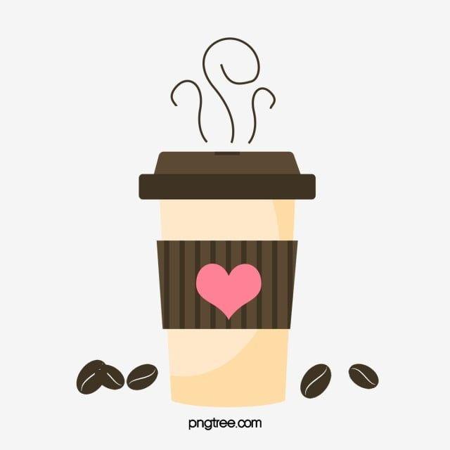 gambar cawan kopi vektor cawan biji kopi vektor kopi png dan psd untuk muat turun percuma in 2020 coffee vector tea cafe coffee theme pinterest