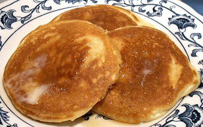 Yummy Pancakes - Using Carbquick - Per small pancake, 1g Net Carbs  /  Linda's Low Carb Menus & Recipes