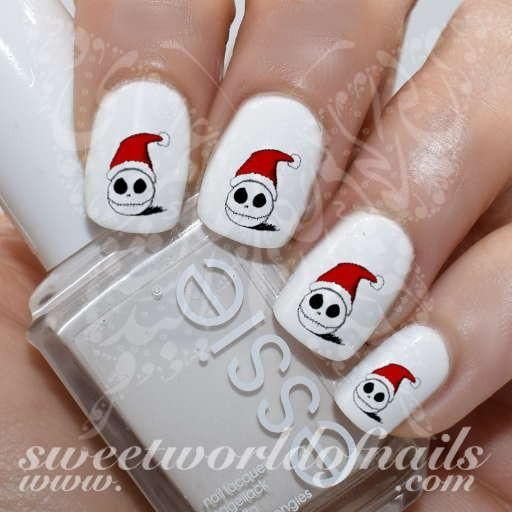 8727 best nail art images on pinterest nail scissors nail art christmas nail art jack skellington nail water decals httpssweetworldofnails prinsesfo Gallery