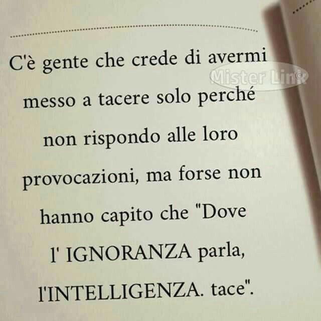 #frasi #silenzio