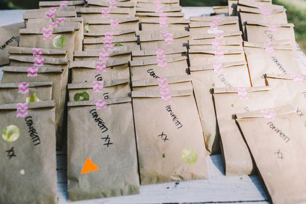 wedding favors - photo by Lara Hotz http://ruffledblog.com/tongue-in-cheek-whimsical-australian-wedding
