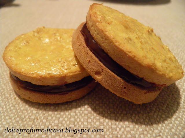 Dolce profumo di casa: Biscotti farciti - Dieta Dukan