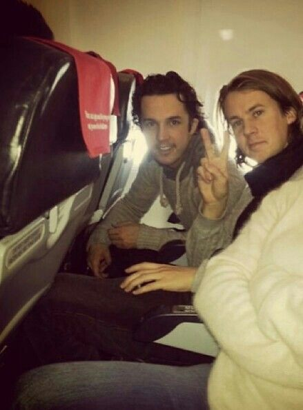 Bård Ylvisåker and Vegard when they said they took separate planes it was a joke folks ;)