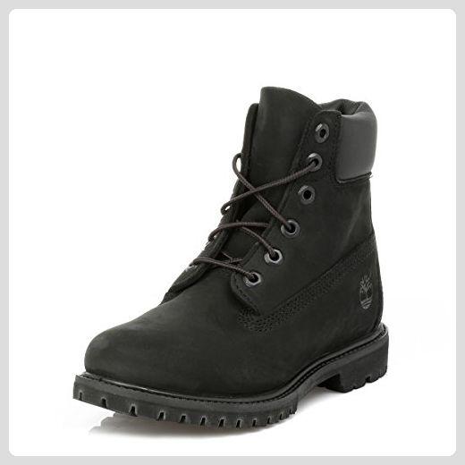 Timberland Damen Schwarz Premium 6 Inch Boots-UK 3.5 - Stiefel für frauen (*Partner-Link)