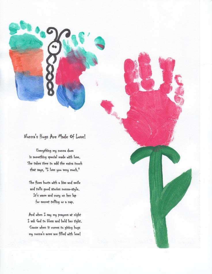 Nonna - Hand and Footprint art