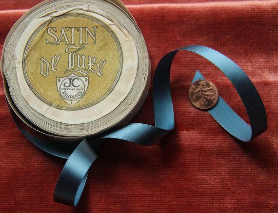 1 werf Flapper tijdperk zijde satijn lint voor door duchesstrading