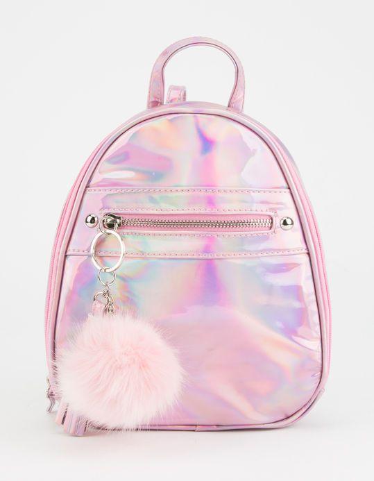 8ad03c83ba Hologram Mini Backpack - PINK - D84027