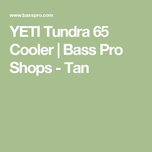 YETI Tundra 65 Cooler | Bass Pro Shops - Tan