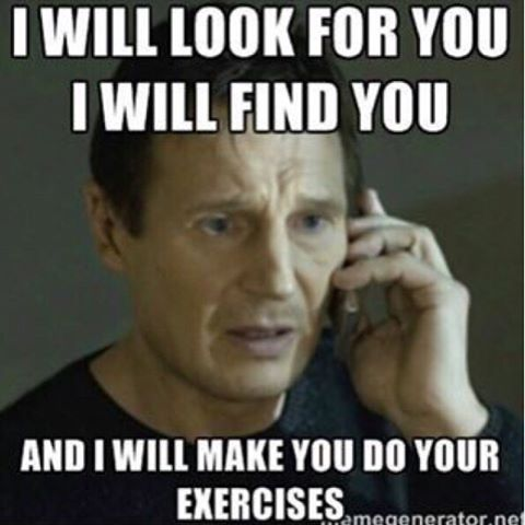 How I feel when I go in for physical therapy #PhysicalTherapy #Memes #funny