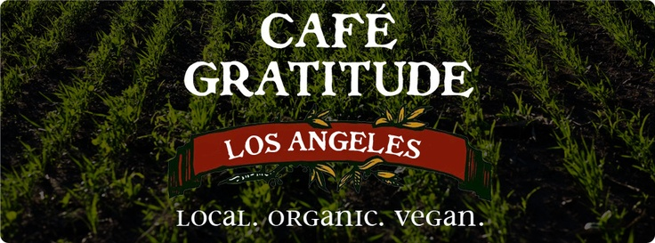 Cafe Gratitude - Los Angeles, CA: Very vegan. They don't use any soy either.