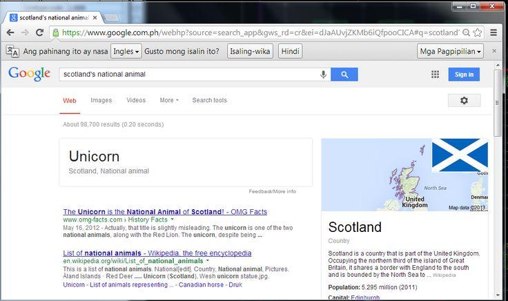SCOTLAND'S NATIONAL ANIMAL :)